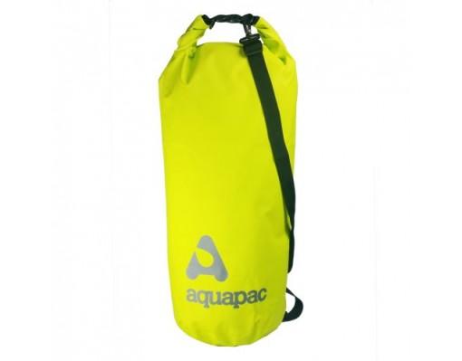 AQ737 70 Liter TrailProof Drybag met schouderband Lime