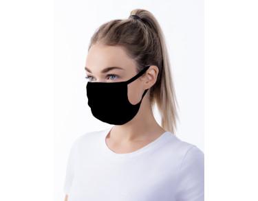 Wasbaar stoffen mond- en neusmasker in een verpakking van 5 stuks