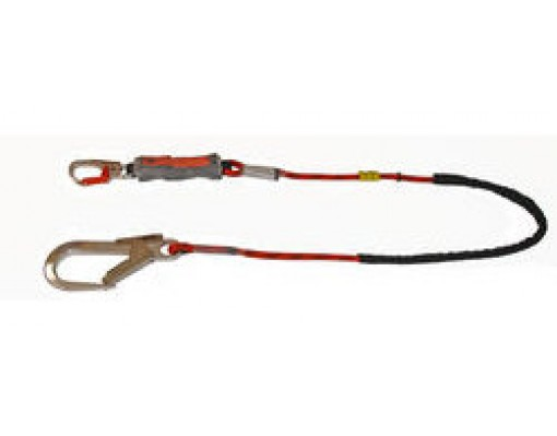 Euroline Lanyard kernmantelrope with energy absorber