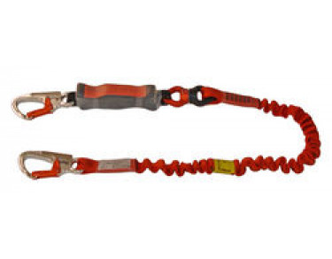 Euroline Lanyard stretch with energy absorber and AHK karabiner