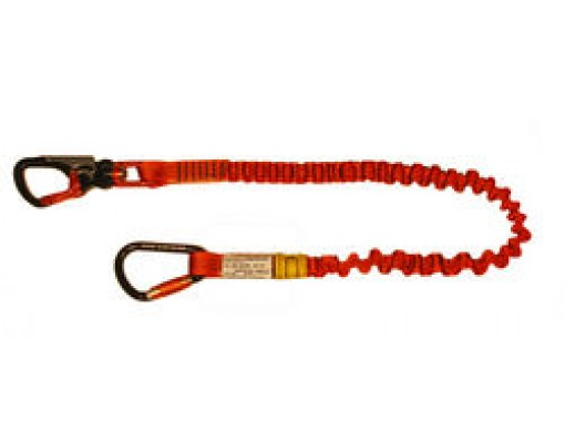 Euroline Lanyard stretch with AHK-swivel pivot and twistlock-karabiner