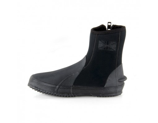 Black Neoprene Wet Boots