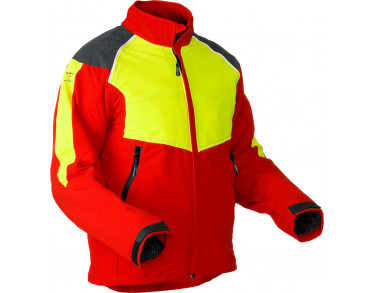 Chainsaw protection jacket