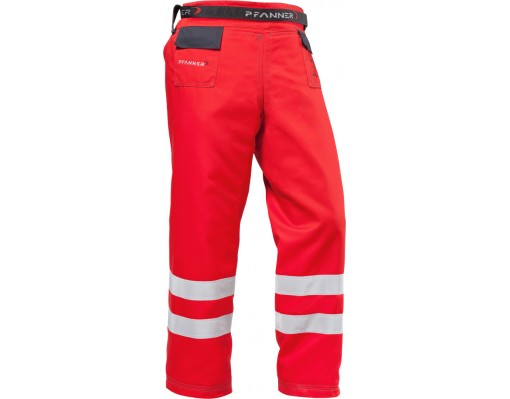 Chainsaw protection gaiters Type C