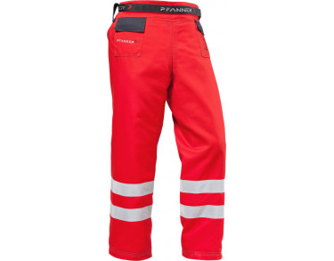 Chainsaw protection gaiters type A